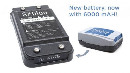 GPS / GNSS receivers - new battery