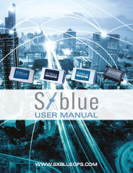 SXBlue II GPS Series - Technical Reference Manual